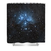 The Pleiades, Also Known As The Seven Shower Curtain by John Davis