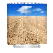 The Ploughed Field 2 Shower Curtain