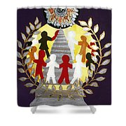 The Poet Lauriat Shower Curtain