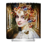 The Poets Lover Shower Curtain