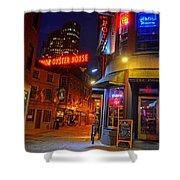 The Point Marshall Street Boston Ma Shower Curtain