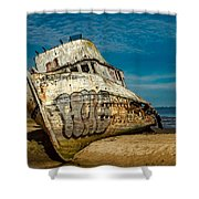 The Point Reyes Beached Shower Curtain