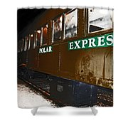 The Polar Express Shower Curtain