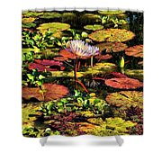 The Pond Shower Curtain