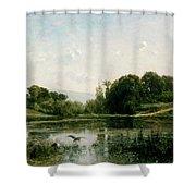 The Ponds Of Gylieu Shower Curtain