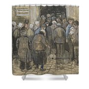 The Poor And Money The Hague, September - October 1882 Vincent Van Gogh 1853  1890 Shower Curtain