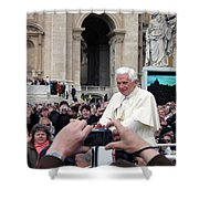 The Pope Shower Curtain