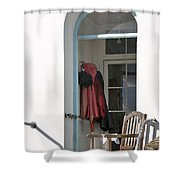 The Porch Shower Curtain