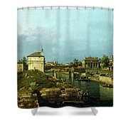 The Porta Portello, Padua Shower Curtain