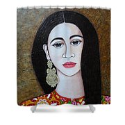 The Portuguese Earring 2 Shower Curtain