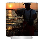 The Potomac In Color Shower Curtain