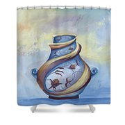 The Potter Shower Curtain