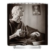 The Potter Of Haweryvschyna Shower Curtain