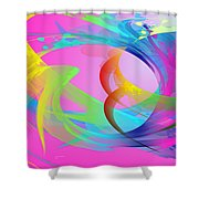The Power And Positive Energy, 26 Shower Curtain