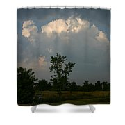 The Power And The Glory Shower Curtain