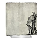 The Power Of A Kiss Shower Curtain