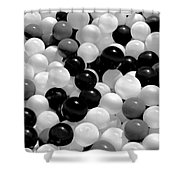 Power Balls Shower Curtain