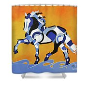 The Power Of Equus Shower Curtain
