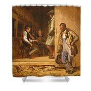 The Power Of Music, 1847 Shower Curtain
