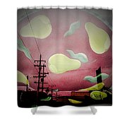 The Power Of Pear Shower Curtain