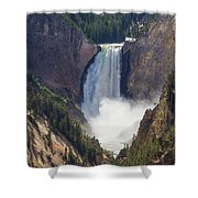 The Power Of Yellowstone Shower Curtain