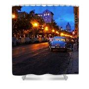 The Prado, Havana Cuba Shower Curtain
