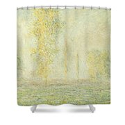The Prairie In Giverny Shower Curtain