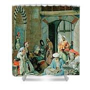 The Prayer Of The Faithful Shower Curtain