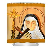The Prayers Of The Righteous 2 Shower Curtain