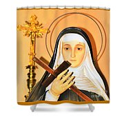 The Prayers Of The Righteous Shower Curtain