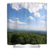 The Presidential Range From Mount Prospect Shower Curtain