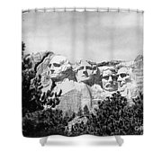 The Presidents Four Shower Curtain
