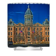 The Presidio County Courthouse Shower Curtain