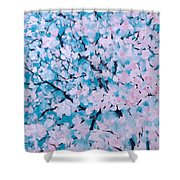The Pretty Blooming Shower Curtain