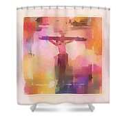 The Price Shower Curtain by Aaron Berg