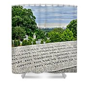 The Price Of Liberty Shower Curtain