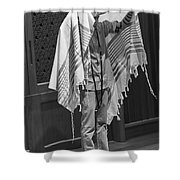The Priestly Blessing Shower Curtain