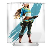 The Princess Of Hyrule Shower Curtain