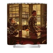 The Prodigal Son In Modern Life  The Departure Shower Curtain