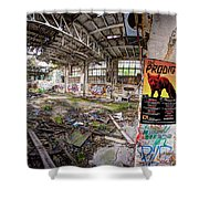 The Prodigy In Berlin Shower Curtain