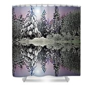 The Promises That Winter Brings Shower Curtain