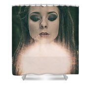 The Prophecy Shower Curtain