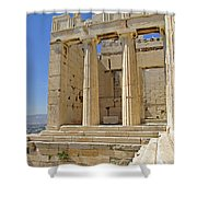 The Propylaia In Athens          The Propylaia - Vertical                                    Shower Curtain