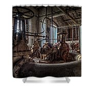 The Pumphouse Shower Curtain