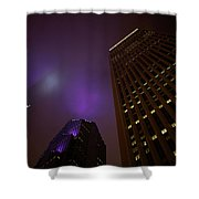 The Purple Fog Shower Curtain