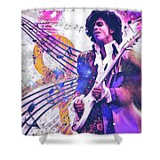 The Purple One Shower Curtain