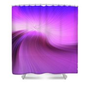The Purple Wave 0610 Shower Curtain