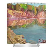 The Quarry Shower Curtain