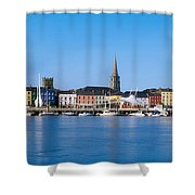 The Quays, Wexford, County Wexford Shower Curtain