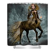 The Queen Horse Shower Curtain